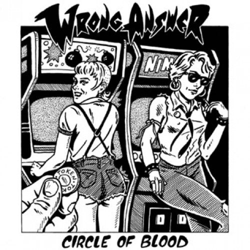 "SFU83-1 Wrong Answer ""Circle Of Blood"" LP Album Artwork"
