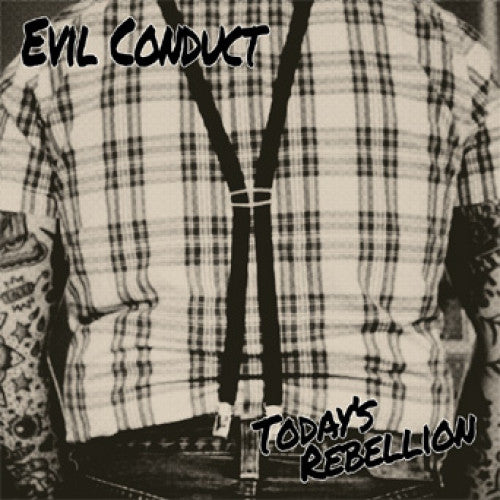 "SFU95-1 Evil Conduct ""Today's Rebellion"" LP Album Artwork"