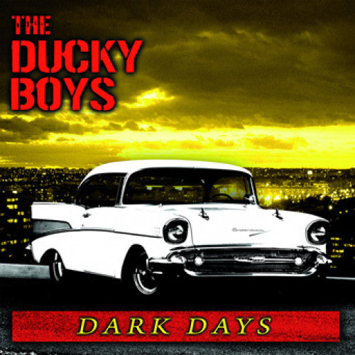 "SLNR17 The Ducky Boys ""Dark Days"" LP/CD Album Artwork"
