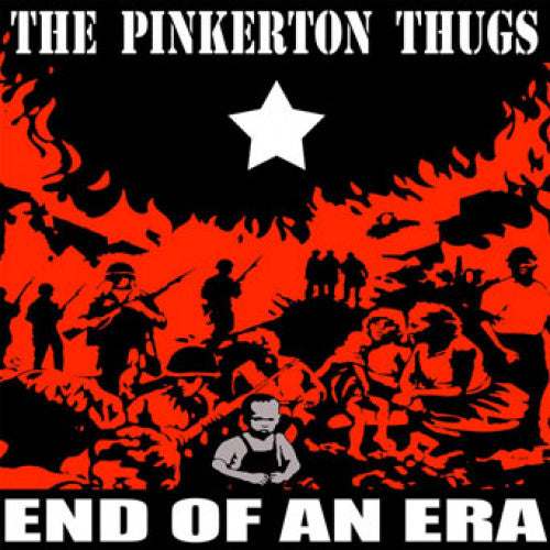 "SLNR18-1 The Pinkerton Thugs ""End Of An Era"" LP Album Artwork"