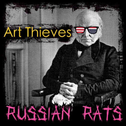 "SLNR25-1 Art Thieves ""Russian Rats"" LP Album Artwork"