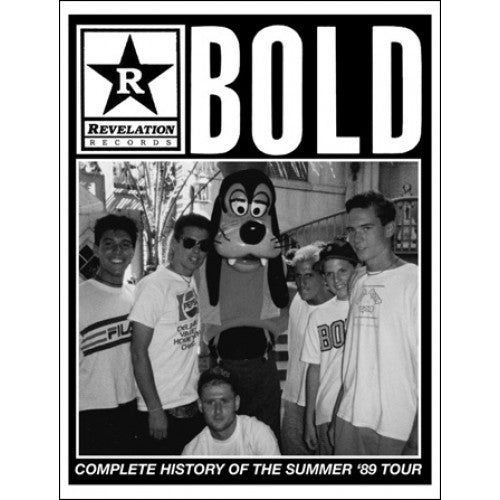 "SLP020-Z Bold ""Complete History Of The Summer '89 Tour"" -  Fanzine"