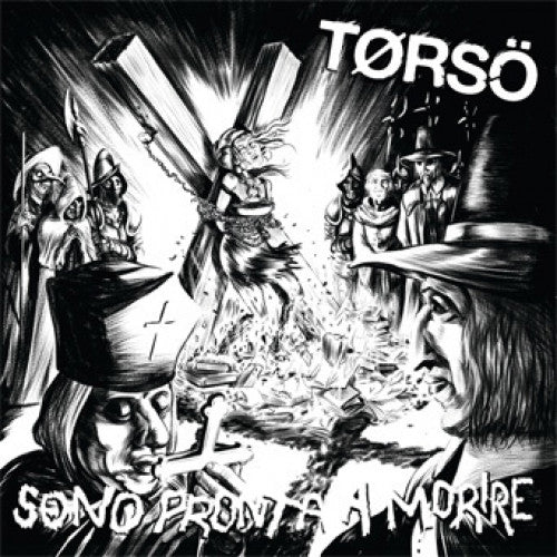 "SORRY76-1 Torso ""Sono Pronta A Morire"" LP Album Artwork"