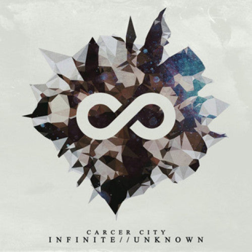 "SSCK009-2 Carcer City ""Infinite//Unknown"" CD Album Artwork"