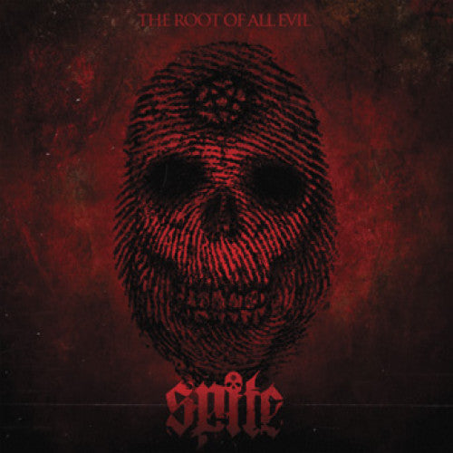 "SSCK017 Spite ""The Root Of All Evil"" LP/CD Album Artwork"
