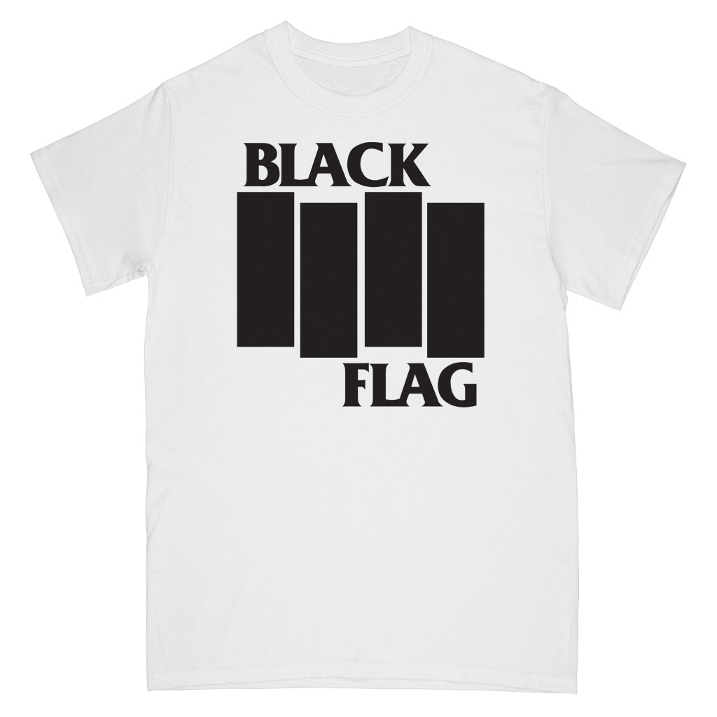 "SSTSS004S Black Flag ""Bars"" -  T-Shirt Front"