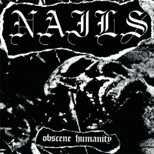 "SUNN151-1 Nails ""Obscene Humanity"" 7"" Album Artwork"