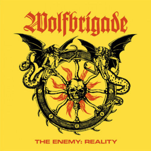 "SUNN275-1 Wolfbrigade ""The Enemy: Reality"" LP Album Artwork"