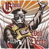 "TANK103-1 Ghoul ""Wall Of Death b/w Humans Till Deth"" 7"" Album Artwork"