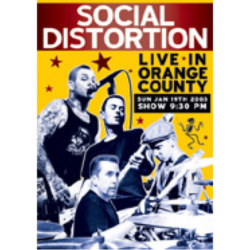 "TBM902-DVD Social Distortion ""Live In Orange County"" - DVD"