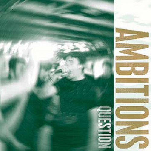 "TF023-2 Ambitions ""Question"" CD Album Artwork"