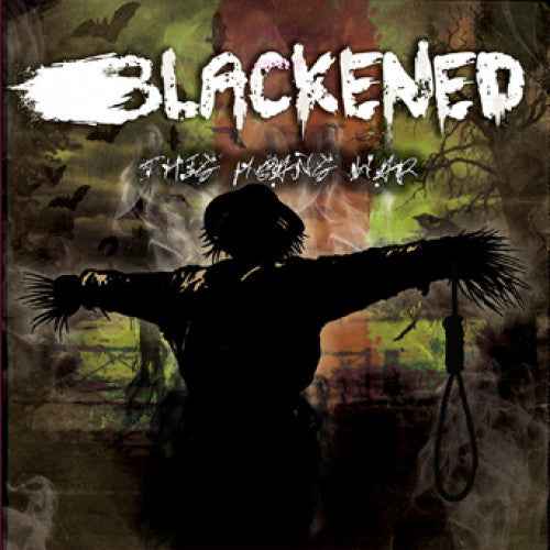 "TF037-1/2 Blackened ""This Means War"" LP/CD Album Artwork"