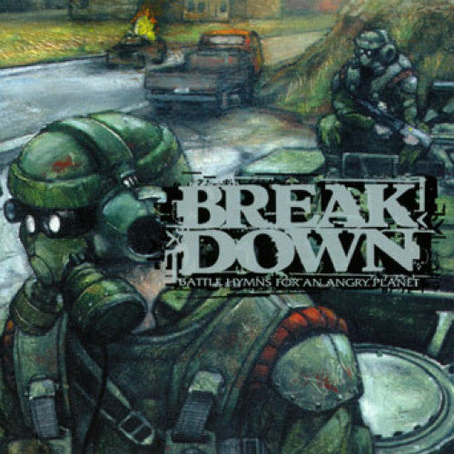 "THORP01-2 Breakdown ""Battle Hymns For An Angry Planet"" CD Album Artwork"