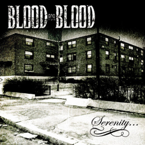 "THORP40-2 Blood For Blood ""Serenity..."" CD Album Artwork"