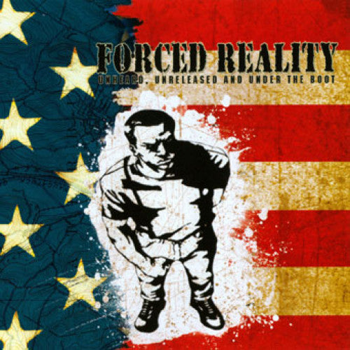 "THORP46-2 Forced Reality ""Unheard, Unreleased, And Under The Boot"" CD Album Artwork"