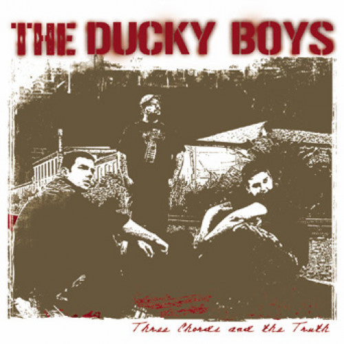 "THORP48-2 The Ducky Boys ""Three Chords And The Truth"" CD Album Artwork"