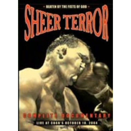 "THORP53-DVD Sheer Terror ""Beaten By the Fists of God"" - DVD+CD"