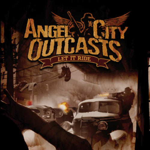 "THORP56-2 Angel City Outcasts ""Let It Ride"" CD Album Artwork"
