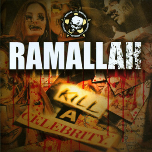 "THORP66-2 Ramallah ""Kill A Celebrity"" CD Album Artwork"