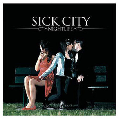 "TK102-2 Sick City ""Nightlife"" CD Album Artwork"