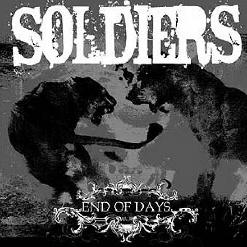 "TK103-2 Soldiers ""End Of Days"" CD Album Artwork"