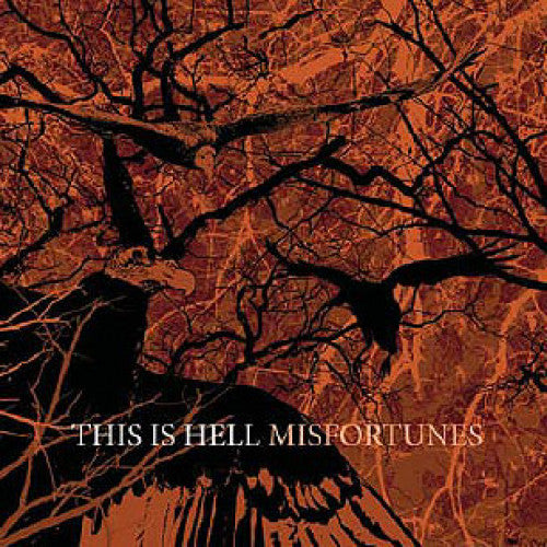"TK108-2 This Is Hell ""Misfortunes"" CD Album Artwork"