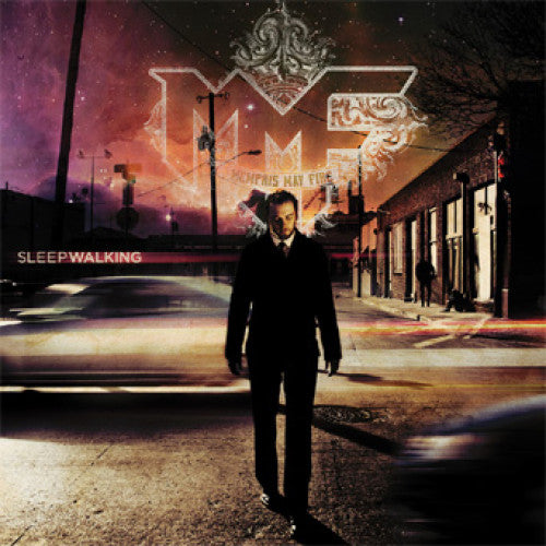 "TK115-2 Memphis May Fire ""Sleepwalking"" CD Album Artwork"