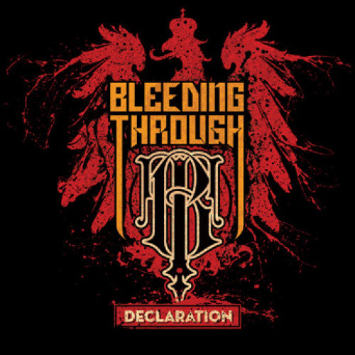 "TK116-1/2 Bleeding Through ""Declaration"" LP/CD Album Artwork"
