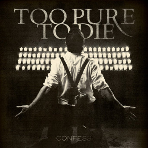 "TK119-2 Too Pure To Die ""Confess"" CD Album Artwork"