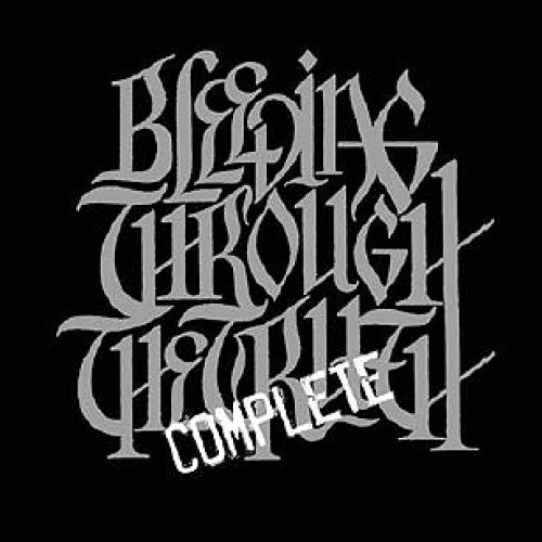 "TK120-2 Bleeding Through ""The Complete Truth"" CD Album Artwork"