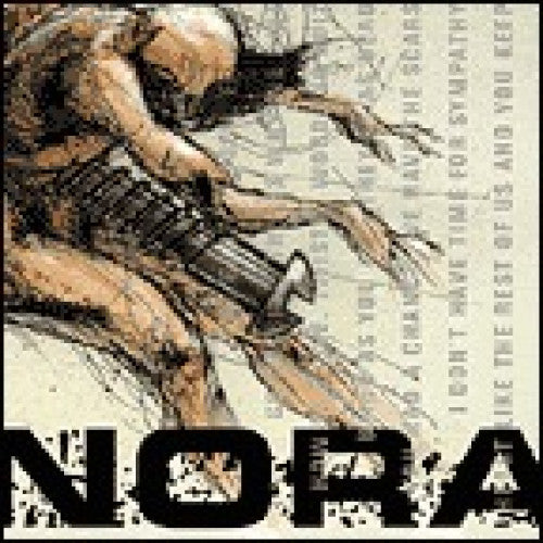 "TK34-2 Nora ""Loser's Intuition"" CD Album Artwork"
