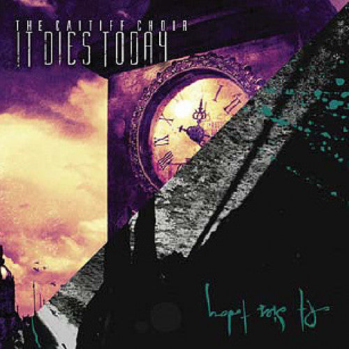 "TK75-2 It Dies Today ""The Caitiff Choir / Forever Scorned"" CD Album Artwork"