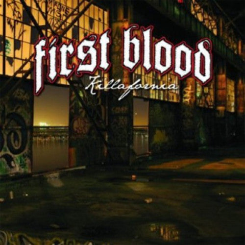 "TK76-2 First Blood ""Killafornia"" CD Album Artwork"