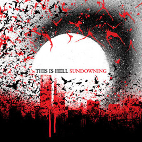 "TK77-2 This Is Hell ""Sundowning"" CD Album Artwork"