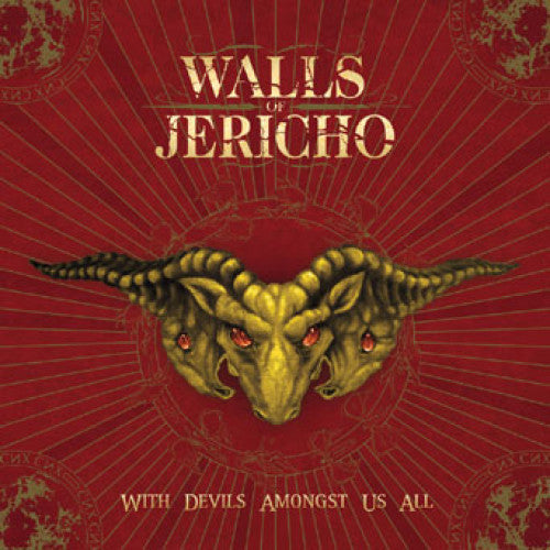 "TK82-2 Walls Of Jericho ""With Devils Amongst Us All"" CD Album Artwork"