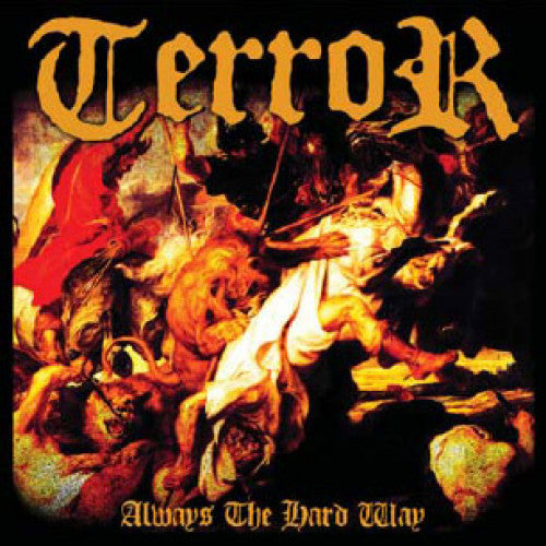 "TK84-2 Terror ""Always The Hard Way"" CD Album Artwork"