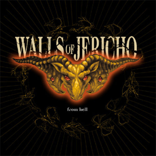 "TK85-2 Walls Of Jericho ""From Hell"" CD Album Artwork"