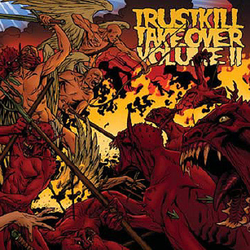 "TK86-2 V/A ""Trustkill Takeover Volume II"" CD Album Artwork"