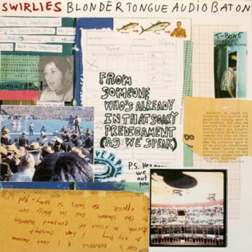 "Swirlies ""Blonder Tongue Audio Baton"""
