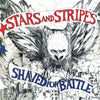 "TNG112 Stars And Stripes ""Shaved For Battle"" LP/CD Album Artwork"