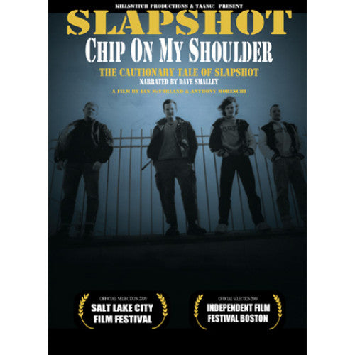 "Slapshot ""Chip On My Shoulder"" - DVD"