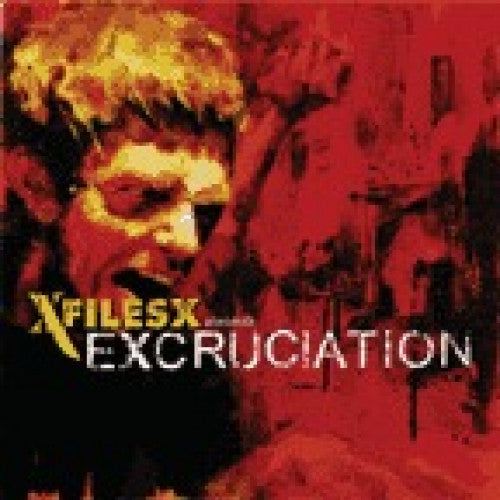 "TRASH09-2 XFILESX ""Excruciation"" CD Album Artwork"