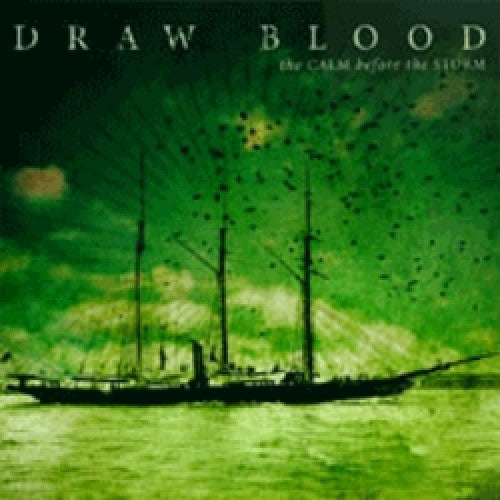 "TRASH13-2 Draw Blood ""The Calm Before The Storm"" CD Album Artwork"