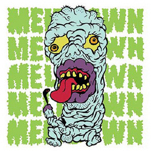 "TRASH18-1 Meltdown ""s/t"" 7"" Album Artwork"