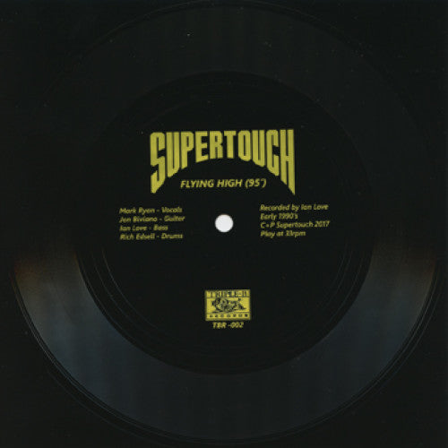 "TRIPB02A-1 Supertouch ""Flying High (95')"" 7"" Flexi Disc Album Artwork"
