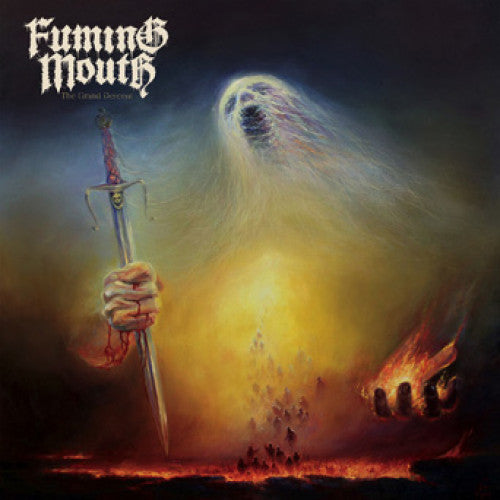 "TRIPB101-1 Fuming Mouth ""The Grand Descent"" LP Album Artwork"