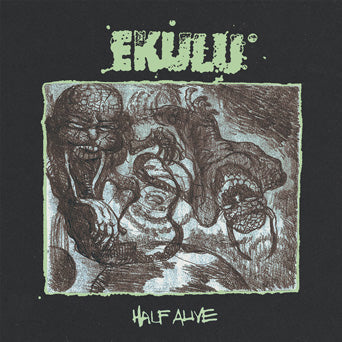 "TRIPB103-1 Ekulu ""Half Alive b/w Emulation"" Album Artwork"