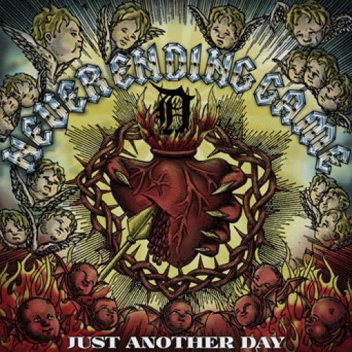 "TRIPB116-1 Never Ending Game ""Just Another Day"" LP Album Artwork"