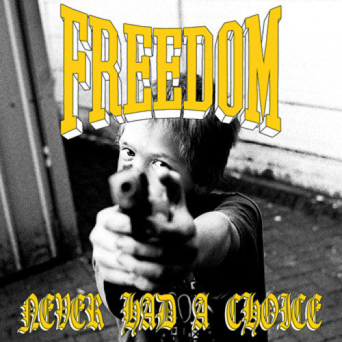 "TRIPB78-1 Freedom ""Never Had A Choice"" 7"" Album Artwork"
