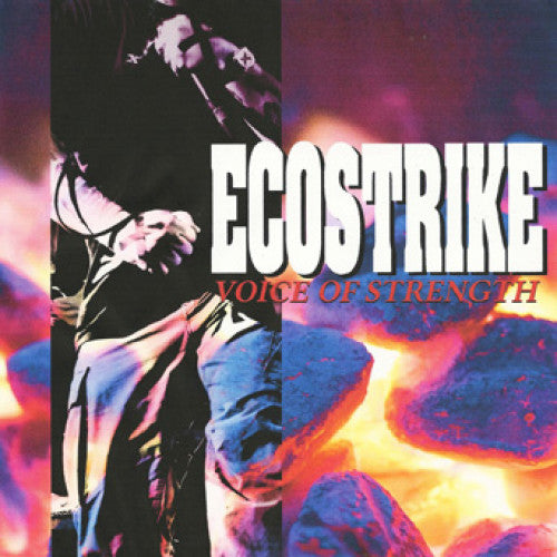 "TRIPB85-1 Ecostrike ""Voice Of Strength"" LP Album Artwork"